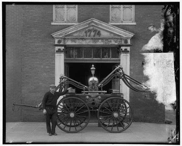 Пожарная машина Джорджа Вашингтона