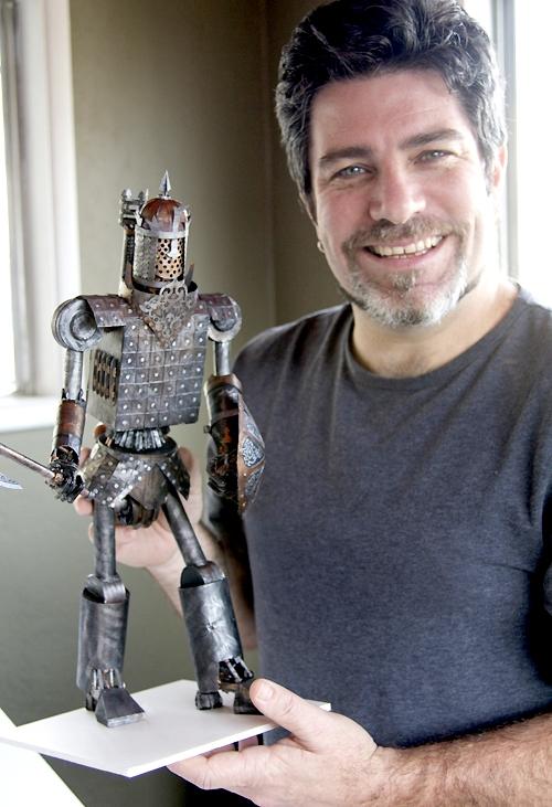 Steampunk-скульптуры из бумаги. Американский художник и скульптор Филипп Валдез (Phillip Valdez) (Фото 2)