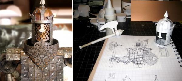 Steampunk-скульптуры из бумаги. Американский художник и скульптор Филипп Валдез (Phillip Valdez)