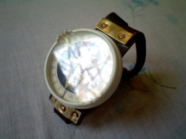 Браслет c компасом на тыльную сторону руки (Фото 2)