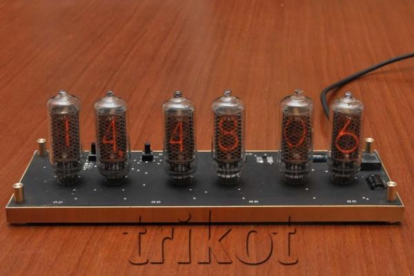Осваиваем новые материалы: Nixie часы в мраморном корпусе. (Фото 13)