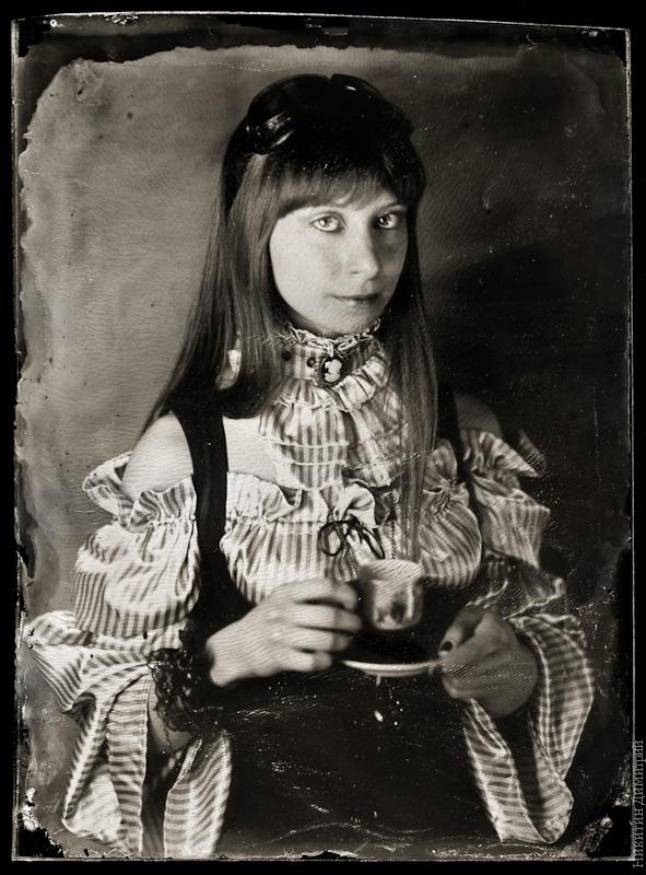 Портрет амбротип.