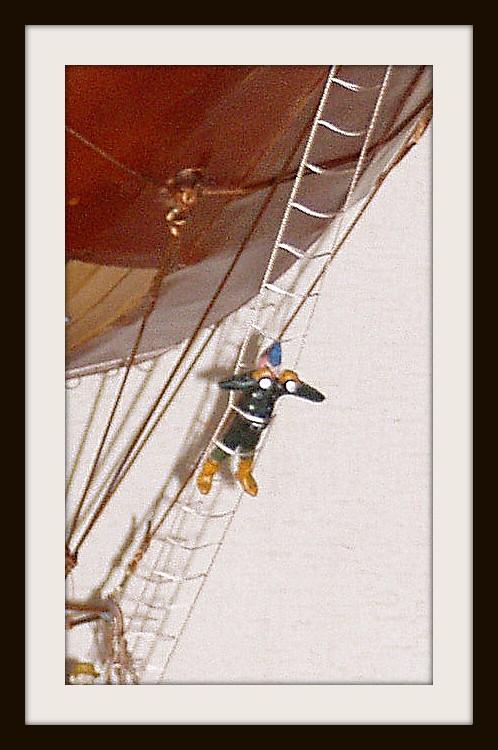 """Воздушный дилижанс с паровым двигателем - """"Sky travels"""" (Фото 7)"""