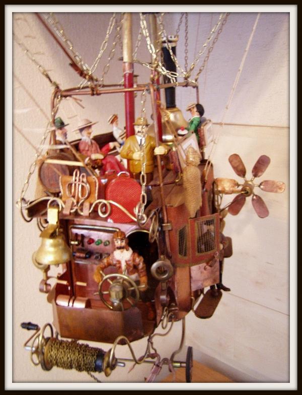 """Воздушный дилижанс с паровым двигателем - """"Sky travels"""" (Фото 10)"""