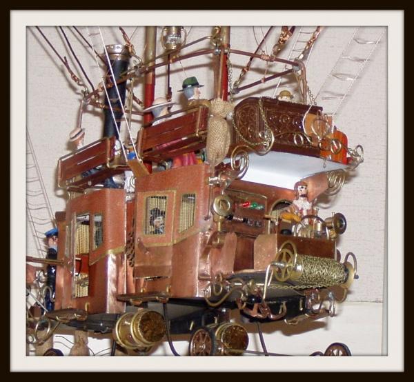 """Воздушный дилижанс с паровым двигателем - """"Sky travels"""" (Фото 9)"""