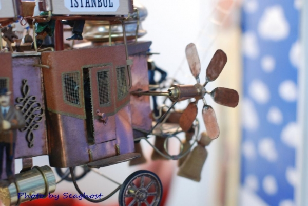 """Воздушный дилижанс с паровым двигателем - """"Sky travels"""" (Фото 17)"""