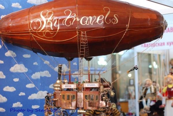 """Воздушный дилижанс с паровым двигателем - """"Sky travels"""" (Фото 18)"""