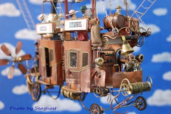 """Воздушный дилижанс с паровым двигателем - """"Sky travels"""" (Фото 12)"""