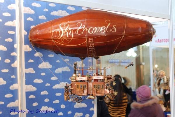 """Воздушный дилижанс с паровым двигателем - """"Sky travels"""" (Фото 19)"""