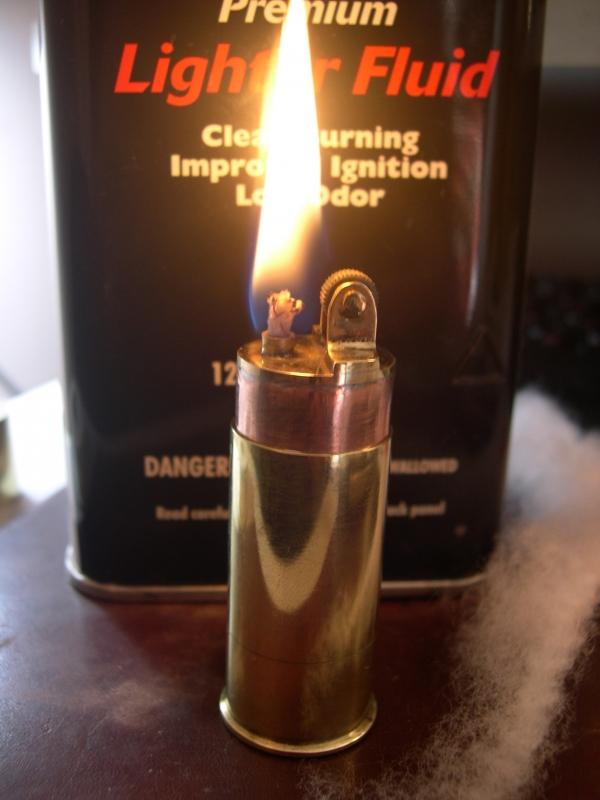 Зажигалка гильза. (Фото 6)