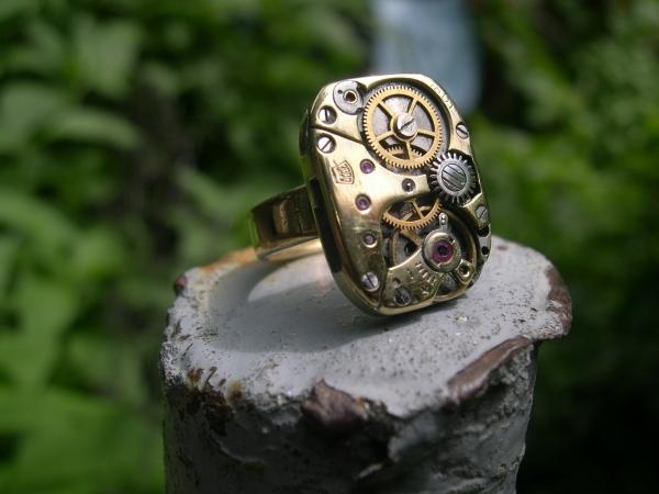 Стим кольцо. Заря.