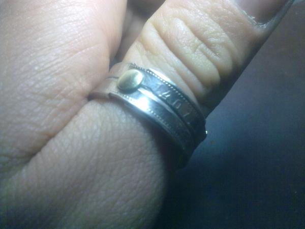 Кольцо из двух монет. (Фото 7)