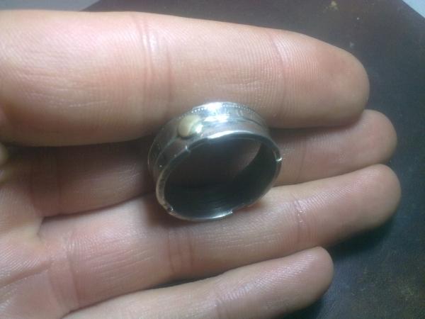 Кольцо из двух монет. (Фото 5)