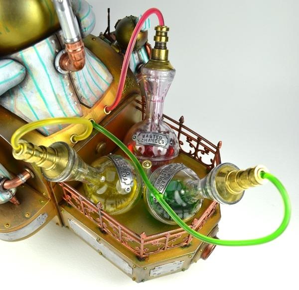 Стимпанковский робот-кондитер (Фото 2)