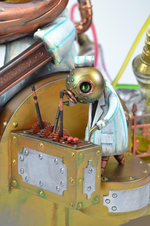 Стимпанковский робот-кондитер (Фото 3)