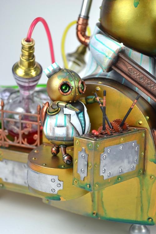 Стимпанковский робот-кондитер (Фото 4)