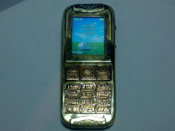 Китайская трёх симочная звонилка из 19 века. (Фото 2)