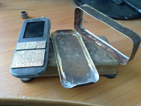 Китайская трёх симочная звонилка из 19 века. (Фото 16)