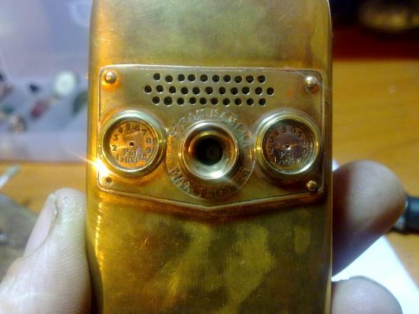 Китайская трёх симочная звонилка из 19 века. (Фото 44)