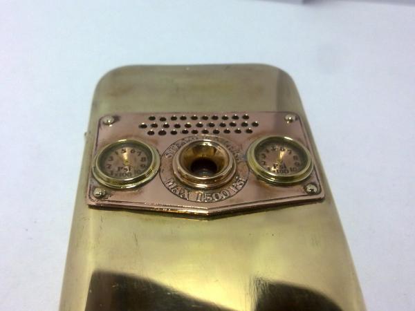Китайская трёх симочная звонилка из 19 века. (Фото 75)