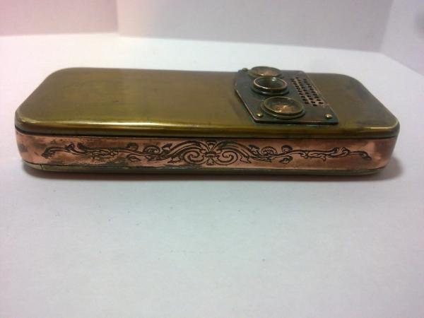 Китайская трёх симочная звонилка из 19 века. (Фото 84)