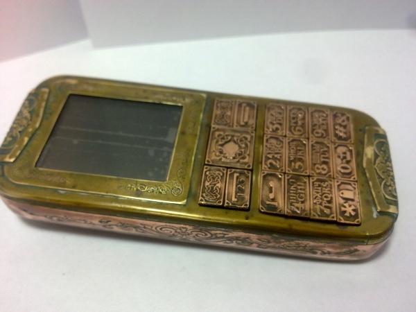 Китайская трёх симочная звонилка из 19 века. (Фото 81)