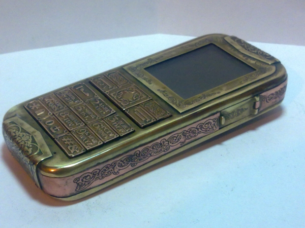 Китайская трёх симочная звонилка из 19 века. (Фото 88)