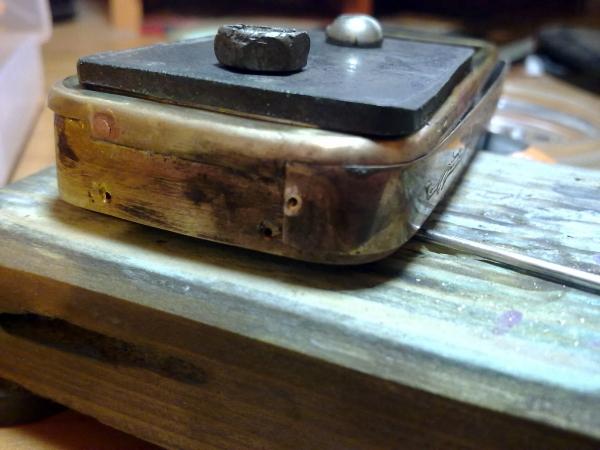 Китайская трёх симочная звонилка из 19 века. (Фото 24)