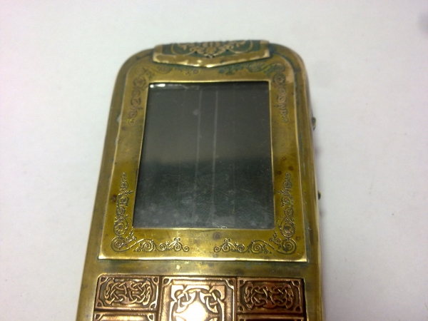 Китайская трёх симочная звонилка из 19 века. (Фото 86)