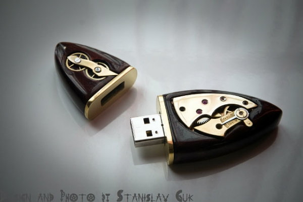 USB Wood Steampunk 16Gb. (Фото 3)