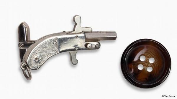 """Викторианская эпоха. Бесствольные револьверы, замаскированные под кольцо-печатку (и прочие комбинированные """"стволы"""") (Фото 41)"""