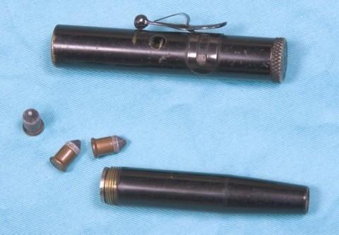 """Викторианская эпоха. Бесствольные револьверы, замаскированные под кольцо-печатку (и прочие комбинированные """"стволы"""") (Фото 35)"""