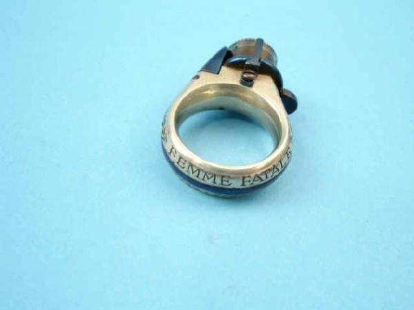 """Викторианская эпоха. Бесствольные револьверы, замаскированные под кольцо-печатку (и прочие комбинированные """"стволы"""") (Фото 3)"""