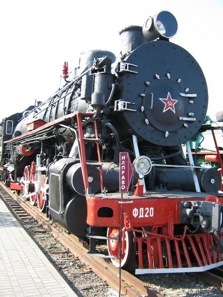 Белорусский стимпанк - Музей паровозов (Фото 81)