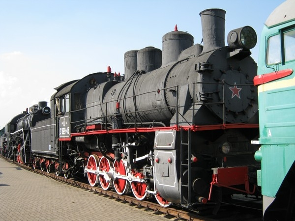 Белорусский стимпанк - Музей паровозов (Фото 32)