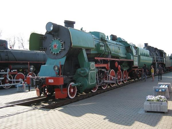 Белорусский стимпанк - Музей паровозов (Фото 28)