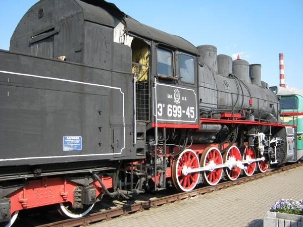 Белорусский стимпанк - Музей паровозов (Фото 36)