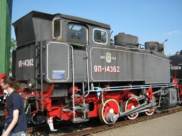 Белорусский стимпанк - Музей паровозов (Фото 43)