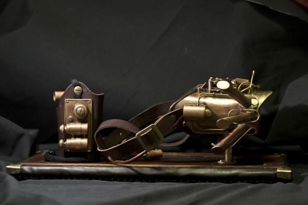 Гогглы Наводчика военного дирижабля (40 000р. торг) (Фото 2)