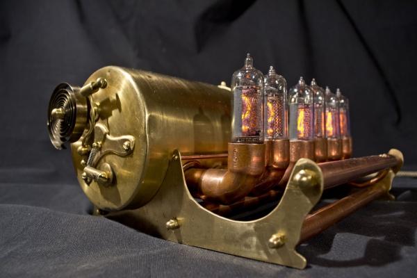 Стимпанк часы Snail 15000 руб