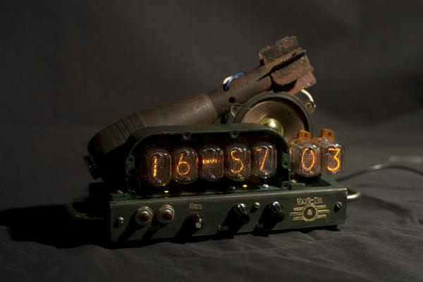 Подошла к концу серия миниатюрных Часов по тематике Fallout
