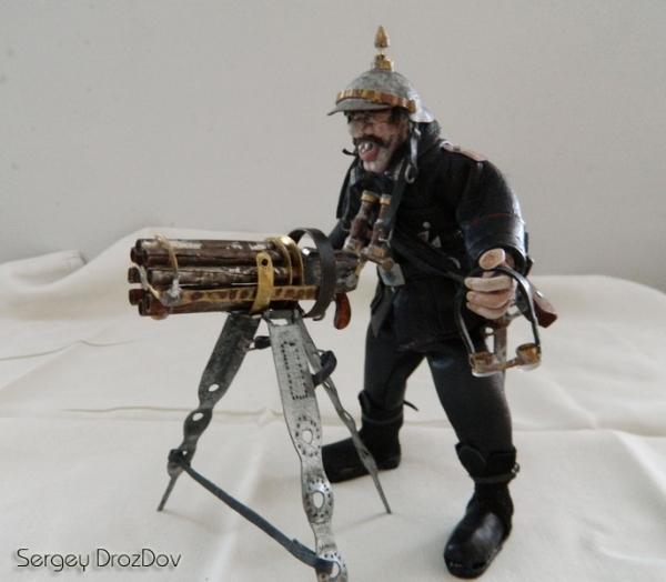 Немецкий солдат, пулемётчик, Ганс Хендрик Гейгер (Фото 13)