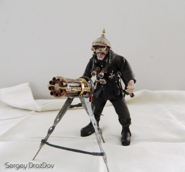 Немецкий солдат, пулемётчик, Ганс Хендрик Гейгер