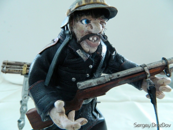 Немецкий солдат, пулемётчик, Ганс Хендрик Гейгер (Фото 6)