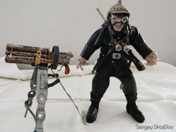 Немецкий солдат, пулемётчик, Ганс Хендрик Гейгер (Фото 2)