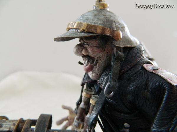 Немецкий солдат, пулемётчик, Ганс Хендрик Гейгер (Фото 15)