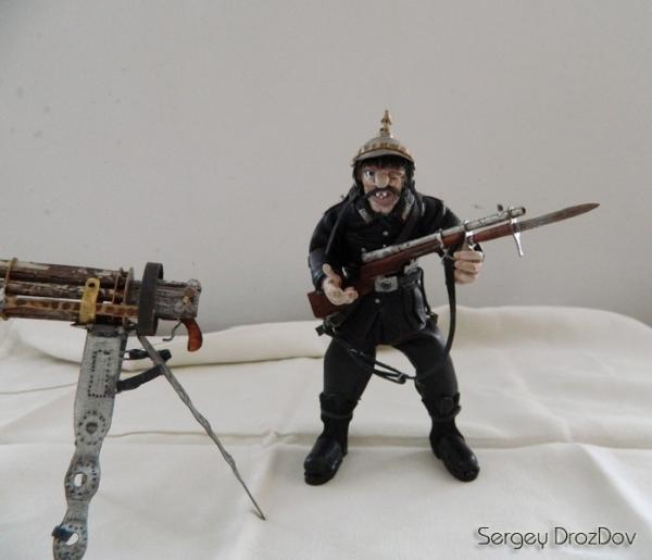 Немецкий солдат, пулемётчик, Ганс Хендрик Гейгер (Фото 5)