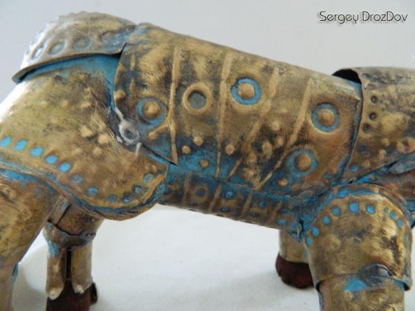 """Африканский носорог """"Iron Destroyer Hero"""" пустыни Египетской Репумспанклер (Фото 2)"""