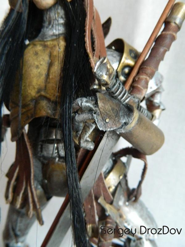 Древний воин ЧАН ЧОУ ЛАЙ - ордена Маскенов (Старая работа) (Фото 3)