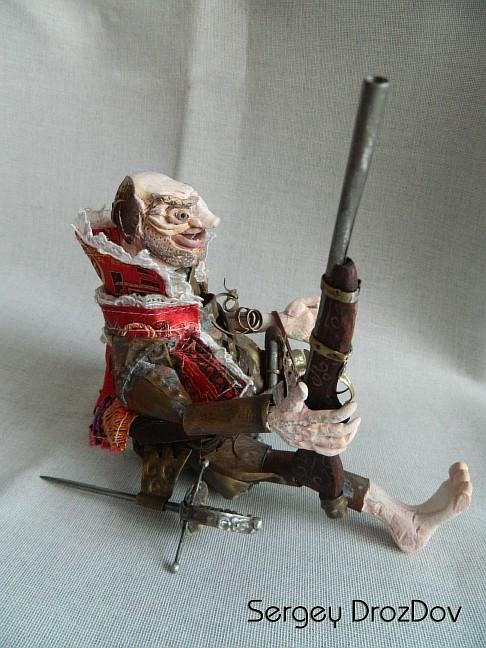 Испанский пират ПИНО ДЕЛЬГАДО (Старая работа) (Фото 2)